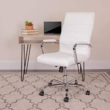 Flash Furniture High Back Office Chair | White ... - Amazon.com