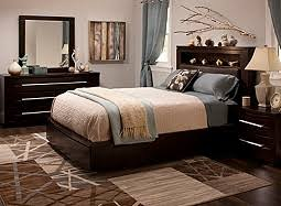 king leather platform bedroom set w storage bed bedroom furniture set