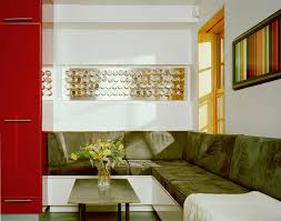 banquette modern room