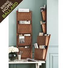 metal 4 pocket embossed organizer i will be seeing you in my next nice wall hanging office organizer 4