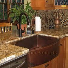 premier copper products 33quot x 24quot hammered apron kitchen sink apron kitchen sink