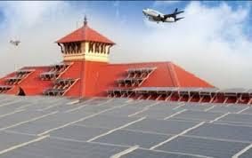Resultado de imagen para imagenes de los paneles solares de aeropuerto cochin