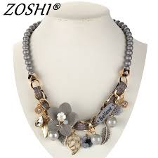 <b>2019 NEW fashion necklace</b> collar Flower Necklaces & Pendants ...