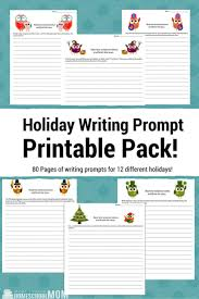 Creative Writing Prompts for Holidays  Festive Ideas for     SM CADMAN AUTHOR Creative writing prompts