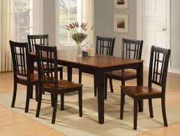 black kitchen dining sets: dining table ideas round black dining table and chairs round unique black kitchen tables