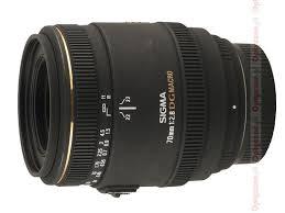 <b>Sigma 70 mm f</b>/<b>2.8</b> EX DG Macro review - Introduction - LensTip.com