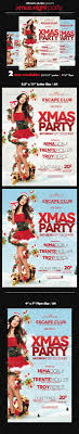 christmas party flyers premium files psddude xmas night party flyer template