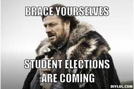 It's election time again! | Unimelb Adventures via Relatably.com