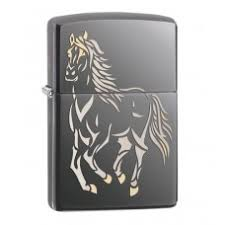 Классическая <b>Зажигалка Zippo</b> 28645 <b>Running</b> Horse - Зажигалки ...