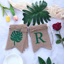 Beach Party Barbecue Party <b>Hello Summer</b> Burlap Banner Rustic ...