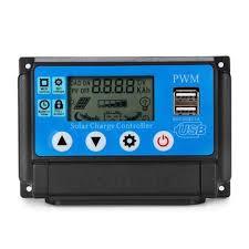 excellway® 10/20/30/40/<b>50a 12v</b> 24v auto solar panel solar charge ...