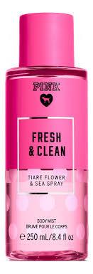 <b>Парфюмерный спрей для тела</b> Pink Fresh & Clean Body Mist 250мл