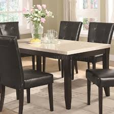Dining Room Table Top Dark Brown Stained Oak Wood Eased Profile Table Top Dining Table