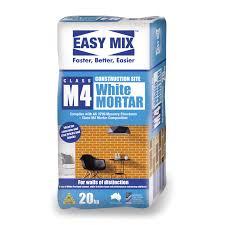 Buy <b>White</b> Mortar | Easy Mix <b>M4</b> Construction Site <b>White</b> Mortar