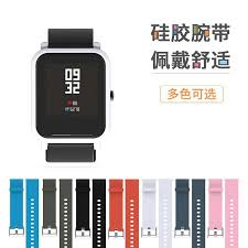 100pcs <b>20mm Sports Silicone Wrist</b> Strap for Xiaomi Huami Amazfit ...