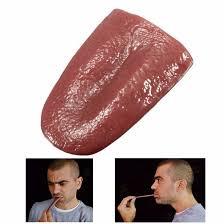 Horror Funny Magic Tricks Person False Simulation Tongue ...