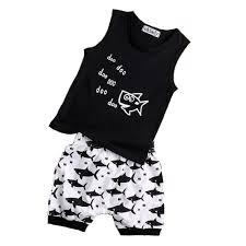 <b>Oklady Baby</b> Boy <b>Girl</b> T Shirt <b>Clothes</b> Shark animal and Doo Doo ...