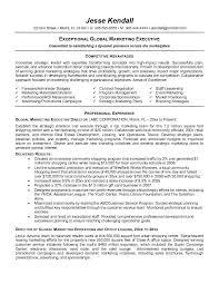 executive resume template e commercewordpress our 1 top pick for global marketing executive resume sample resume executive