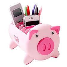 Creative Desktop <b>Storage Box</b> Mobile Phone <b>Pen Holder</b> Office ...