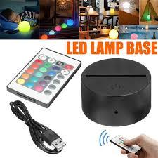 touch switch <b>Modern</b> Black USB Cable Remote Control <b>Night Light</b> ...