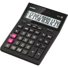 <b>Калькулятор настольный Casio GR-14</b> 14-разрядный черный ...