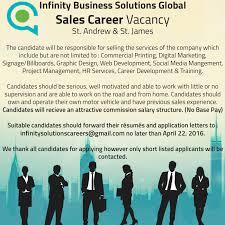 job advt s representative infinity business solutions global job advt s representative infinity business solutions global utech alumni blog
