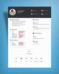 minimal clean resume template psd file good resume minimal clean resume template psd file
