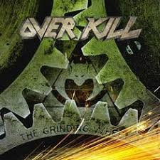 <b>Overkill - The Grinding</b> Wheel Limited Edition Colored Vinyl LP ...
