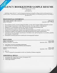 bookkeeping resume   villakiparis comagency bookkeeper resume sample   work related   pinterest