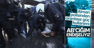 G20 karşıtı protestoculara polis müdahalesi