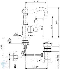 <b>Смеситель для раковины NICOLAZZI</b> Cinquanta 3452CR75C ...