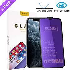JESOHO Anti Blue Light Screen Protector for iPhone ... - Amazon.com