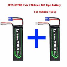 <b>GTFDR POWER</b> Hubsan Battery 7.4V 2700mAh 10C H501S 14 for ...