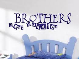 wall art design ideas brothers boys bedroom wall art sample best buddies classic vinyl remarkable breathtaking image boys bedroom