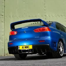 <b>Спойлер крышки багажника</b> Evo Style (Fiber) на <b>Mitsubishi</b> Lancer ...
