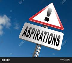 aspirations and future goals and ambition achieving target goal aspirations and future goals and ambition achieving target goal 3d illustration