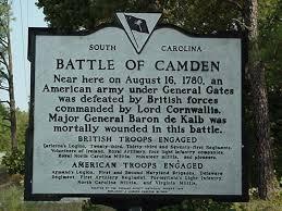 「Battle of Camden」の画像検索結果