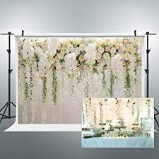 Riyidecor Bridal Floral Wall Backdrop Wedding Rose ... - Amazon.com