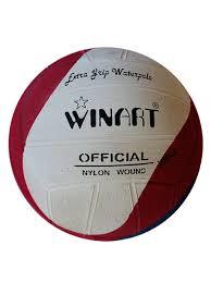 <b>Мяч для водного поло</b> №4 красный/белый/синий WinArt 8508879 ...