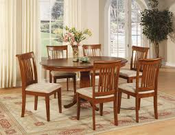 Dining Room Sets 6 Chairs Oval Dining Table For 6 Is Also A Kind Of Oval Dinette Dining Room