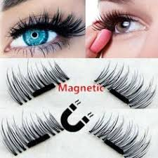 4 Pcs/ 2pair <b>3D Magnetic False Eyelashes</b> Natural Soft Thin in 2019 ...