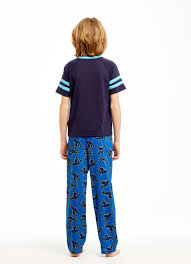 navy shark boys pc sleep set pajamas boys navy shark boys 3pc sleep set