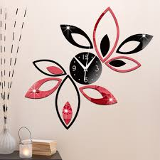 diy wall clock d pictures
