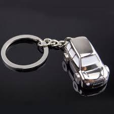zinc alloy key <b>chain</b> key ring suv car shape unisex <b>fashion creative</b> ...