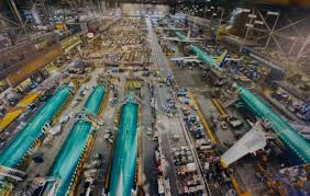 Image result for Renton production floor 737 MAX