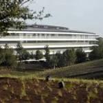 Apple 'Spaceship' Nestled in Earthly Oasis