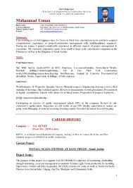 muhammad usman civil engineer cv