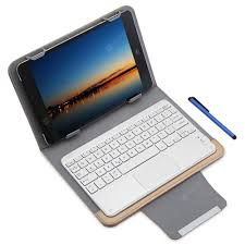 <b>Refurbished</b> 3 in 1 Bluetooth Keyboard Touch Control Tablet Case 9 ...