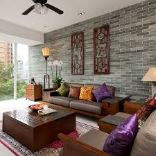 asian living room   peaceful asian living room interiors designed for comfort