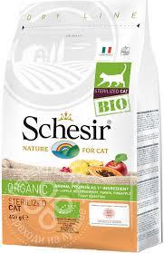 Купить <b>Сухой корм</b> для кошек <b>Schesir Bio</b> Sterilized Домашняя ...
